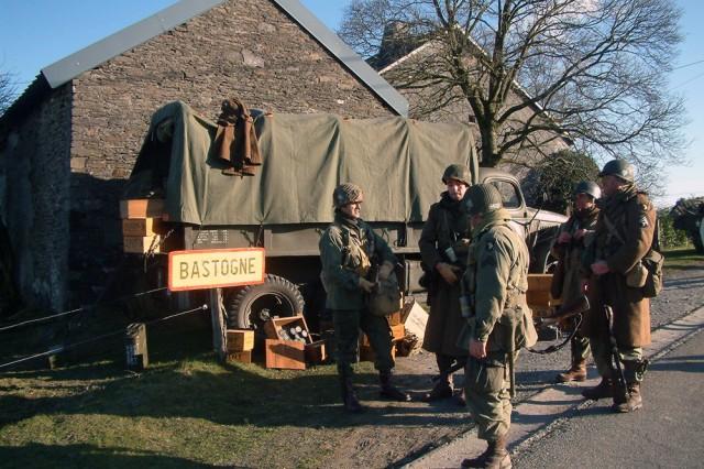 Bastogne walk commemorates largest land battle in U.S. Army history