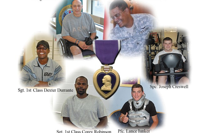 During the years 2007-2008, Wounded Warriors have transitioned through the Charlie Norwood VA Medical Center, Dwight D. Eisenhower Army Medical Center and the Warrior Transition Battalion with great success in the Central Savannah River Area including Augusta, Ga. The care provided has received Congressional accolades. Illustration by Larry  Edmond/Tammy Moehlman