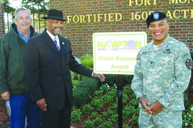 Fort Monroe Wins Clean Business Award