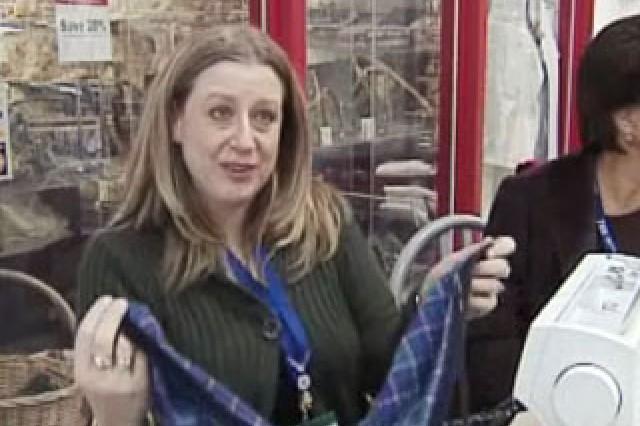Cheryl Martinson, volunteer.