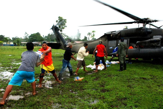 Flood Relief in Panama
