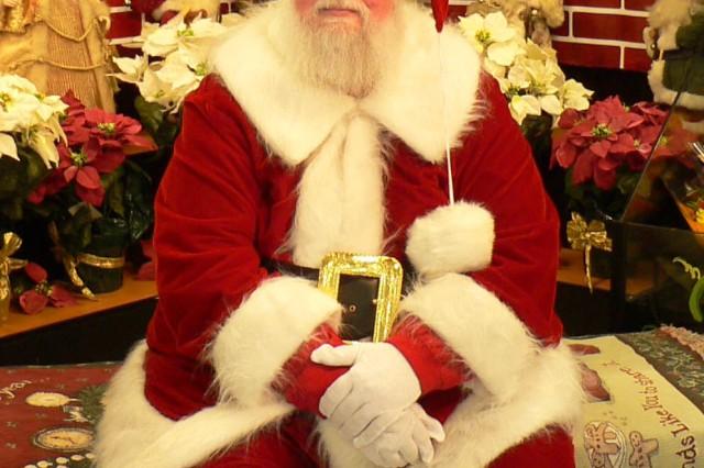 "Dale Michael Cox, aka ""Santa Dale."""
