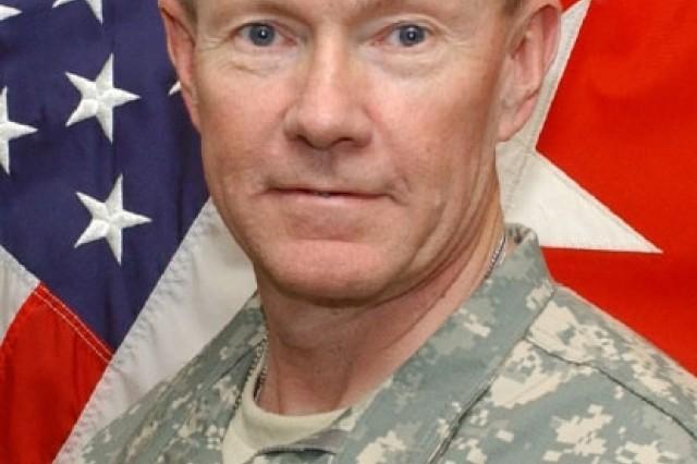 Gen. Martin E. Dempsey assumes Command of TRADOC