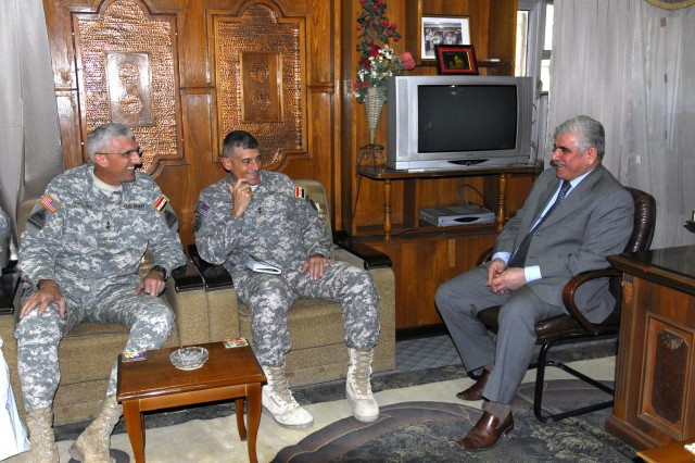 1st Armored Division commander says coalition, Iraqis are creating 'historic turnaround'