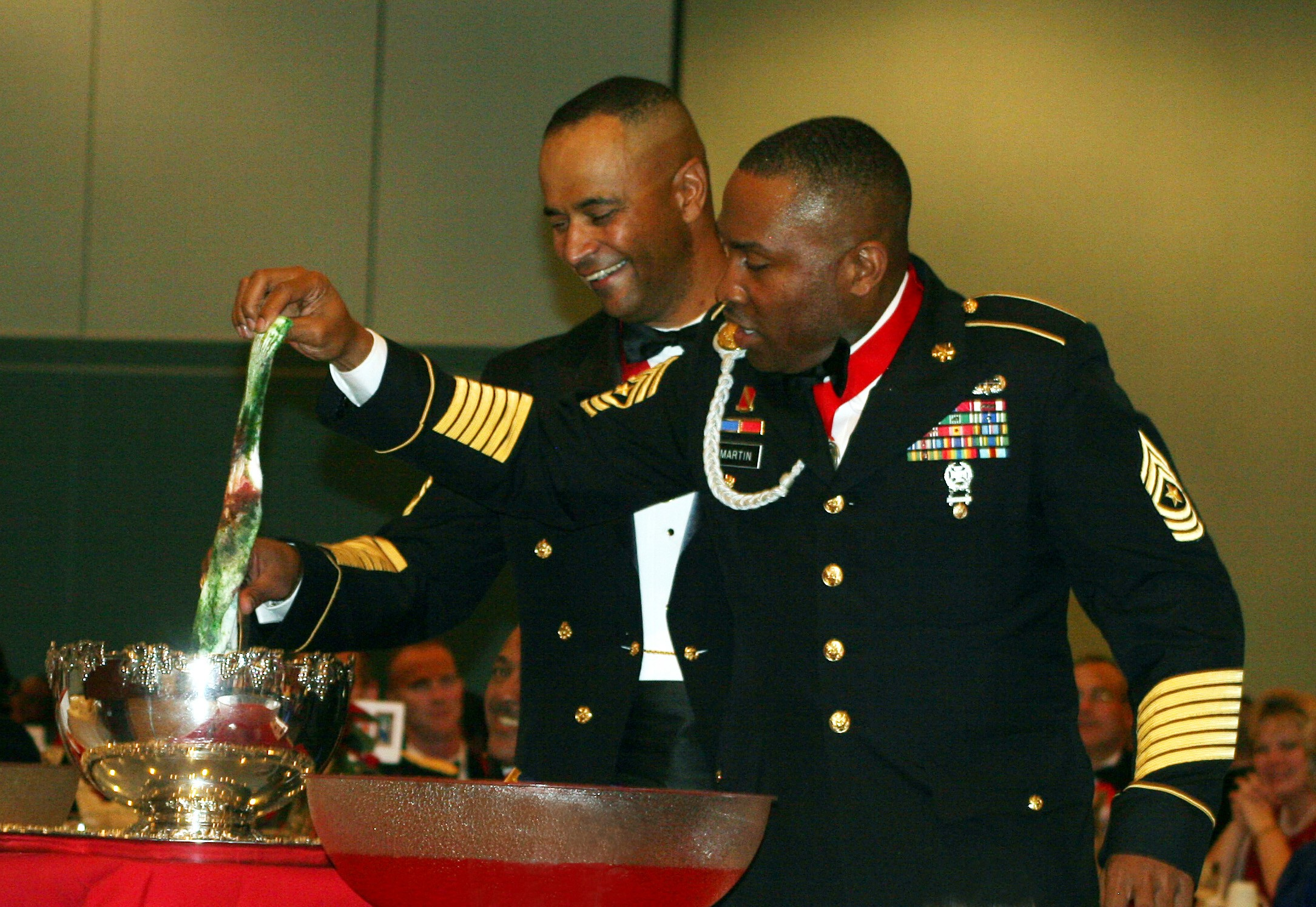 ... honors patron saint of artillery | Article | The United States Army