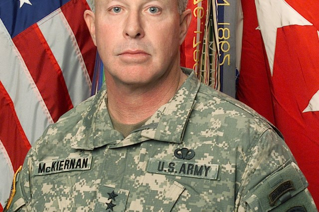 Gen. David D. McKiernan, commander of NATO's International Security Assistance Force and U.S. Forces Afghanistan