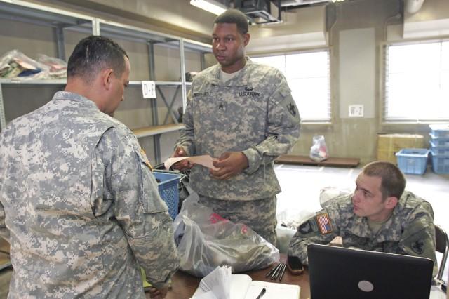 Logistics Task Force 35 Soldiers at Yama Sakura