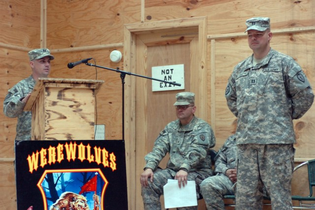 Lovett Assumes Command of HHSB