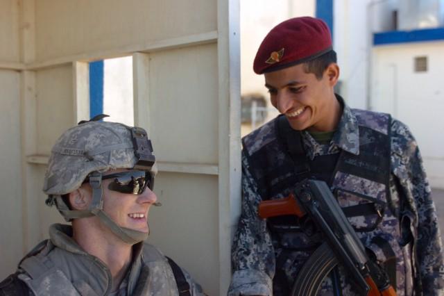 U.S. Army/Iraqi Army Camaraderie