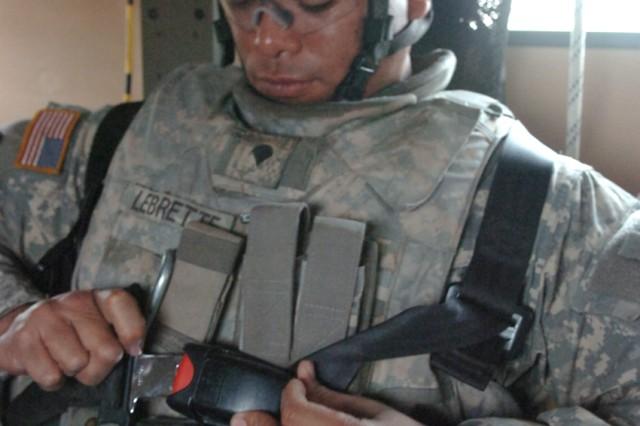 3 ACR, RHHT Soldier Emphasizes Safety