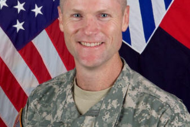 Col. Thomas James, 4th Brigade Combat Team commander, 3rd Infantry Division