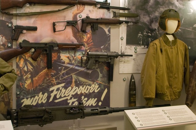 """More than 400 artifacts are on display at the """"U.S. Army Pentagon Exhibit -- A Living History"""" that opened Dec. 15."""