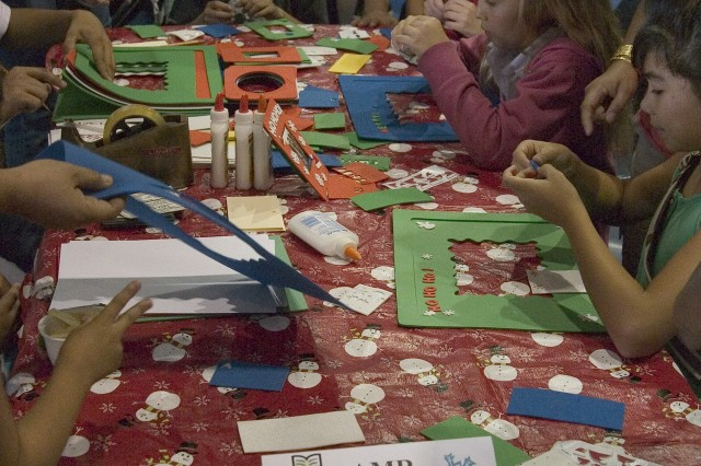 AMR families celebrate holiday spirit at Fun Fest