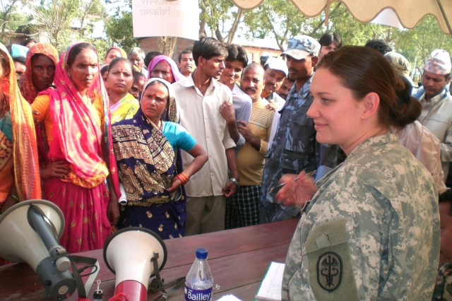 USARPAC Medical Team provides aid to Nepal