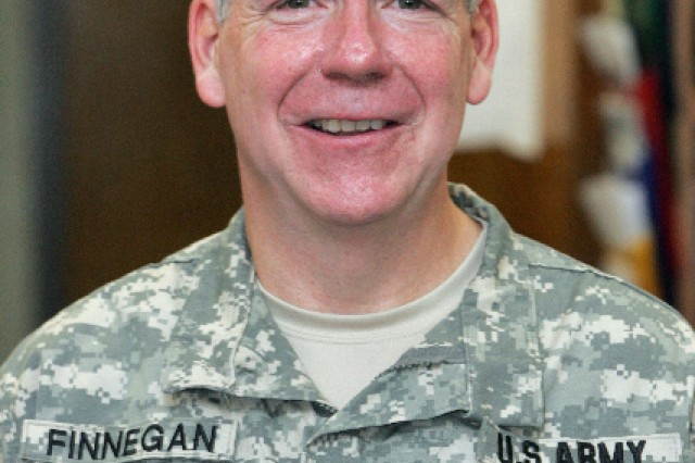 53-year-old 1st Lt. Mike Finnegan