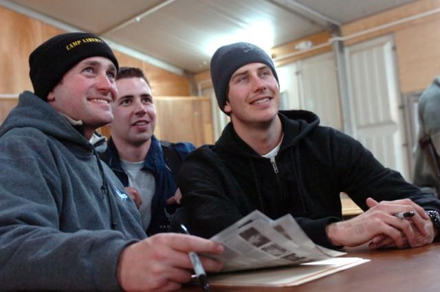 Racing Heroes Meet Military Heroes