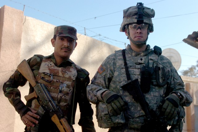 Army/Iraqi Brothers in Arms