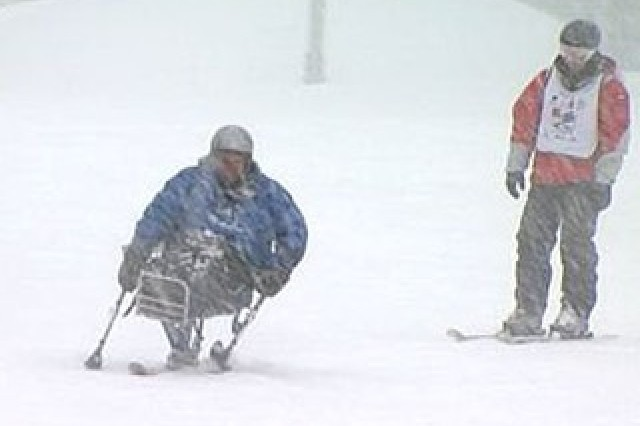 'Wounded Warriors' Hit The Slopes In Breckenridge