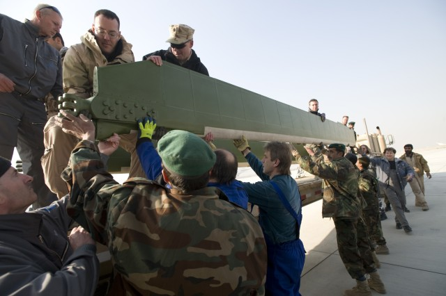 Transition Command Helps to Build Afghan Air Corps