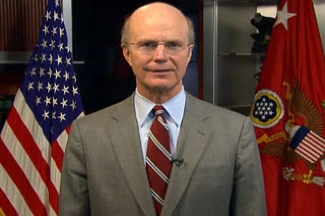 Hon. Pete Geren, Secretary of the Army.