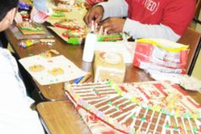 Teens redefine gingerbread houses