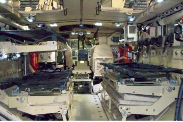 MRAP ambulance interior