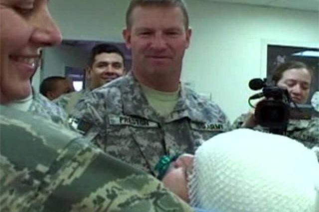 Sgt. Maj. of the Army Kenneth O. Preston.