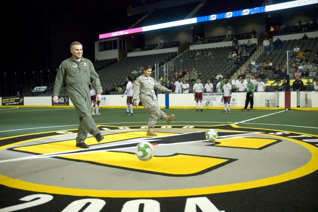 Chicago Storm Military Appreciation Day