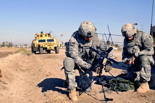 Tactical radio setup