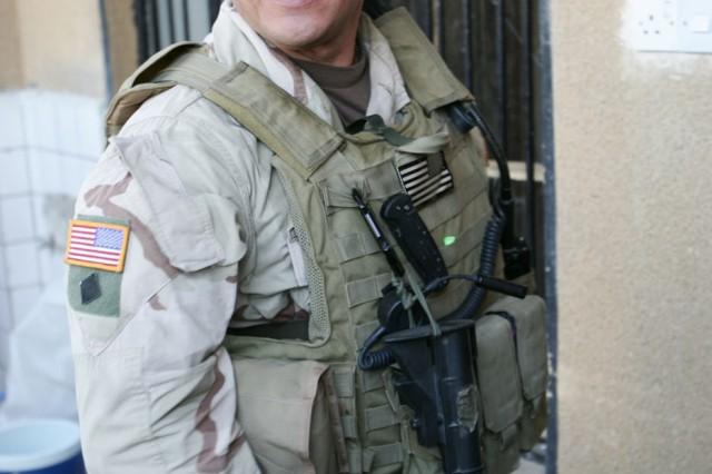 "Vigil during Operation Iraqi Freedom in 2005."""