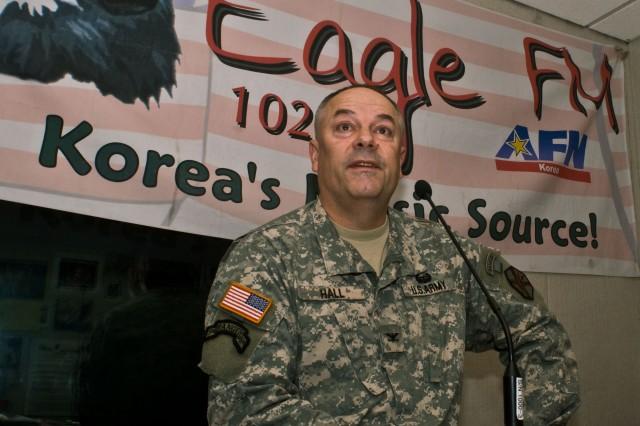 Garrison commander goes live on the Eagle