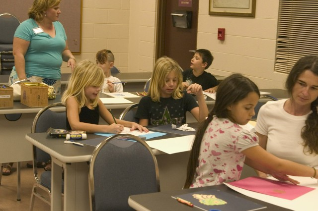 Children create storybooks, become novelists at library