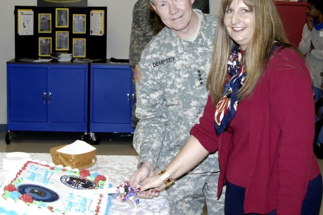 TRADOC Commander Celebrates ACS Birthday