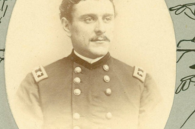 Brigadier General Galusha Pennypacker earned his star at Fort Fisher; at age 20, he was the youngest Civil War general (MOLLUS Coll., USAMHI).