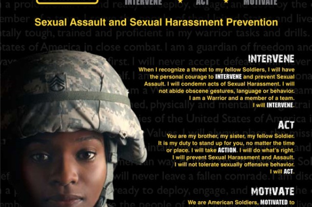The Army launched the I. A.M. Strong program in November to engage Soldiers in preventing sexual assaults.