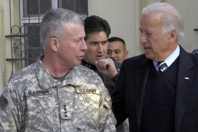 Vice President Elect Visits U.S., Afghan Leaders in Afghanistan