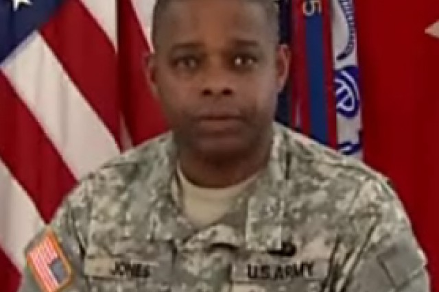 Brig. Gen. Reuben Jones, Army Adjutant General