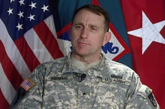 Brig. Gen. Robert Abrams, Combined Arms Center.