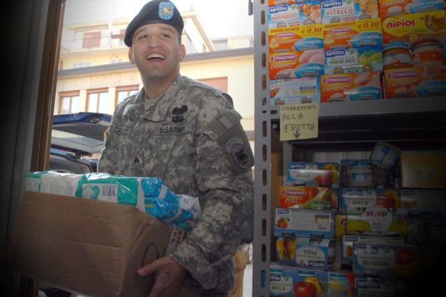 Army Holiday donations