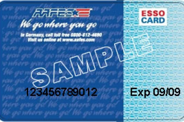 sample fuel card image