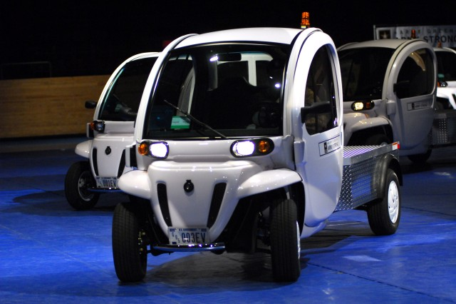 Army receives first of six NEVs