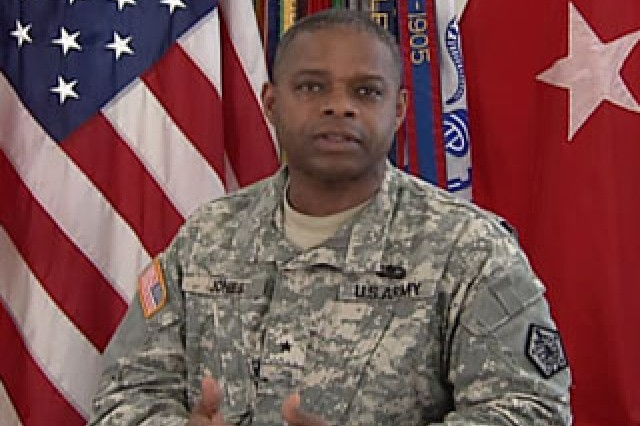 Brig. Gen. Reuben Jones, Adjutant General, HRC.