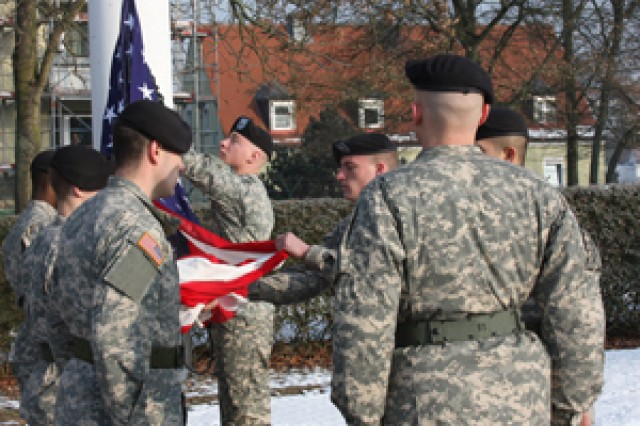 Return of Leighton Barracks to German authorities marks the end of U.S. Army presence in Wuerzburg