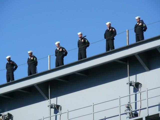 USS Bush Sailors