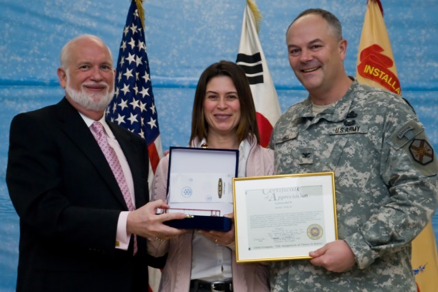 USAG-Yongsan announces Volunteer of the Quarter