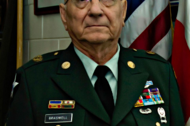 Command Sgt. Maj. (Ret.) Alfred Braswell