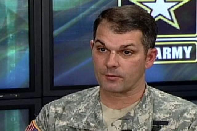 Lt. Col. Kevin Arata, Dir., Army Online and Social Media Division.