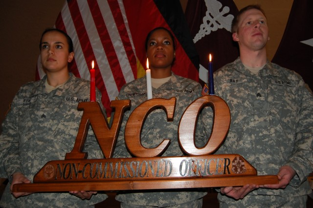 Becoming part of the NCO Corps