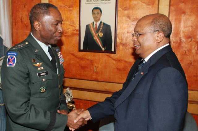 Commander of U.S. Africa Command makes first official visit to Madagascar
