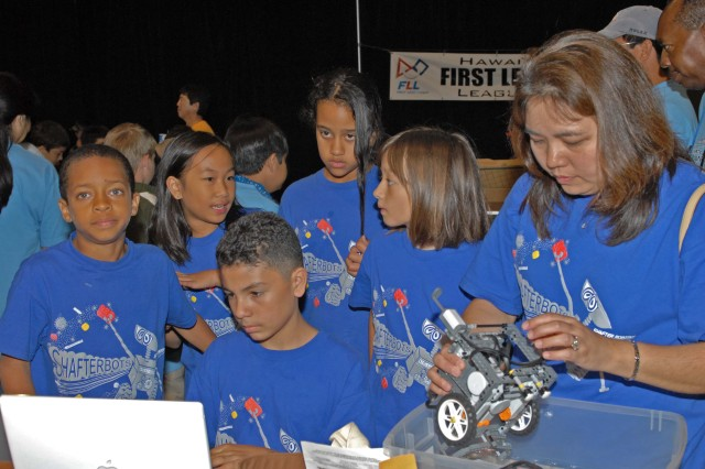 Shafter Elementary first in innovation at state robotics competition